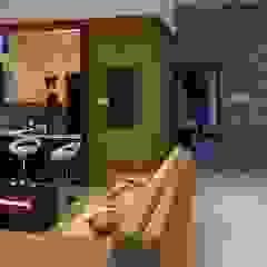 现代客厅設計點子、靈感 & 圖片 根據 3DBricks 現代風