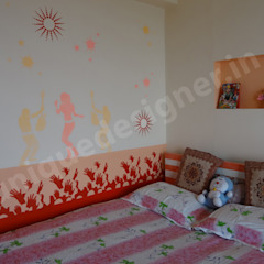 Dormitorios de estilo moderno de UNIQUE DESIGNERS & ARCHITECTS Moderno