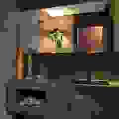 Modern Bathroom by Ana Letícia Virmond Projetos e Interiores Modern