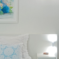 Cuartos de estilo ecléctico de Patrícia Azoni Arquitetura + Arte & Design Ecléctico