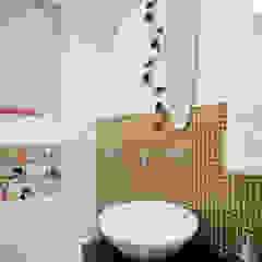 Baños de estilo ecléctico de Patrícia Azoni Arquitetura + Arte & Design Ecléctico