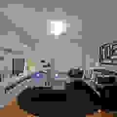 Salas de entretenimiento de estilo moderno de Patrícia Azoni Arquitetura + Arte & Design Moderno