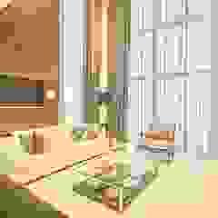 Modern style media rooms by Spengler Decor Modern