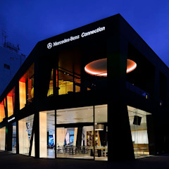 Mercedes-Benz Connection TOKYO の WORKTECHT CORPORATION モダン
