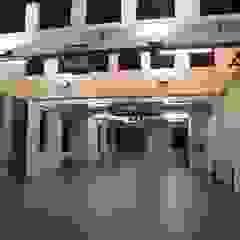 DANCEHAUS - dance and teathre academy Scuole in stile industrial di Giorgio Martino Architetto Industrial Cemento