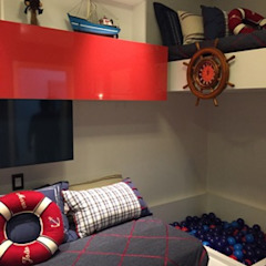 Phòng trẻ em phong cách hiện đại bởi PURA IDEIA ARQUITETURA Hiện đại