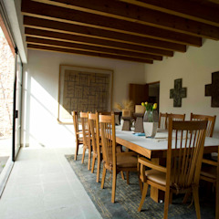 Casa Tepepan Comedores modernos de José Vigil Arquitectos Moderno