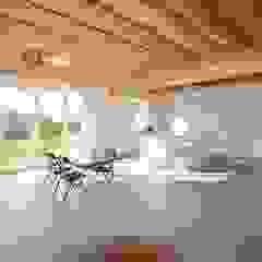 Bureau d'Architectes Desmedt Purnelle Sala da pranzo moderna