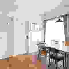 こだわりが詰まった完全二世帯住宅の家 北欧デザインの ホームジム の ジャストの家 北欧