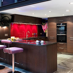 Kitchen Interior Design Quirke McNamara Industrial style kitchen Red