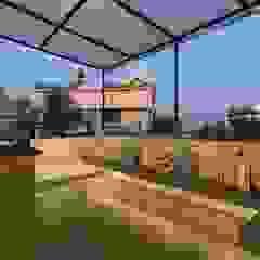 Hiên, sân thượng phong cách hiện đại bởi The design house Hiện đại