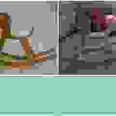 Cavalo de brincar reciclado por Objetos Moderno Madeira Efeito de madeira