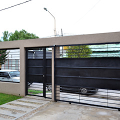 Modern garage/shed by epb arquitectura Modern