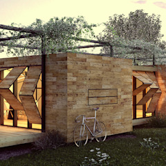 من homify صناعي خشب Wood effect