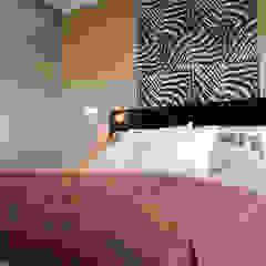 Departamento en Punta del Este - Torres Miami Br. Dormitorios eclécticos de Diseñadora Lucia Casanova Ecléctico