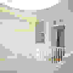 Porto Lounge Hostel Corredores, halls e escadas clássicos por aaph, arquitectos lda. Clássico