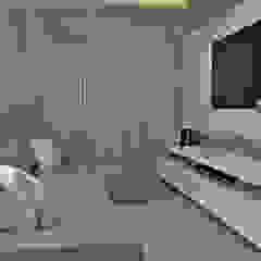 Vila Sônia, 42 Salas multimídia minimalistas por Atelier Par Deux Minimalista