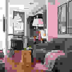 Scandinavian flat Гостиная в скандинавском стиле от GM-interior Скандинавский