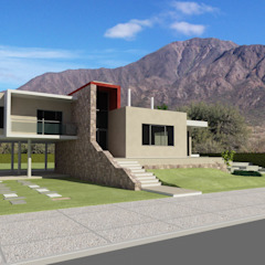by Arquitecto Manuel Daniel Vilte Minimalist Stone
