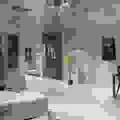 Pasillos, vestíbulos y escaleras modernos de CouturierStudio Moderno