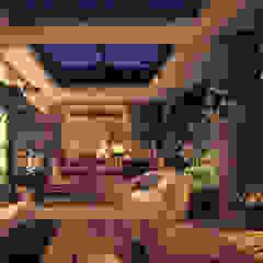 Scandinavische balkons, veranda's en terrassen van (有)ハートランド Scandinavisch