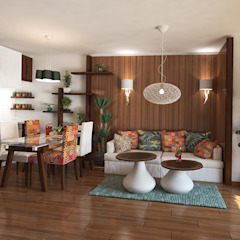 Country style Interior for an apartment, Sofia by Inspiria Interiors Country