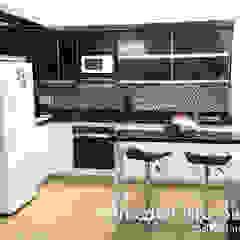Cocinas Integrales Olmedo Ortiz Sierra Modern kitchen White