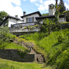 Vakantiewoning Lago Maggiore Mediterrane huizen van Studio Groen+Schild Mediterraan