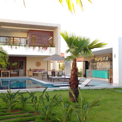 CASA DE PRAIA - GUARAJUBA por Tânia Póvoa Arquitetura e Decoração Tropical