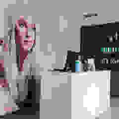 Restyling Kapsalon Scandinavische kantoor- & winkelruimten van Mignon van de Bunt Interieurontwerp, Styling & Realisatie Scandinavisch