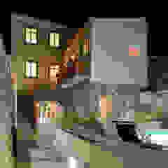 Azorean Urban Lodge Piscinas rústicas por ARCO mais - arquitectura e construção Rústico