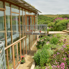 Porthcothan Responsive Home Modern garden by Innes Architects Modern