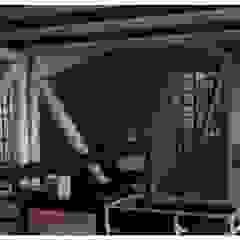 R+P Industrial style media room