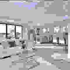 Camden Penthouse Modern living room by Boutique Modern Ltd Modern