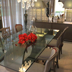 Modern dining room by Carla Batista Interiores Modern