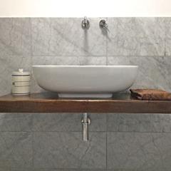 Contesini Studio & Bottega BathroomSinks Solid Wood Wood effect