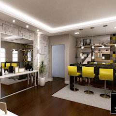 Projeto IT AQUITETURA E INTERIORES Modern kitchen