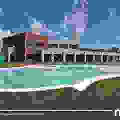 La Alameda - Barrio Privado & Spa Piletas tropicales de Surpool - Diseño de Espacios de Agua Tropical