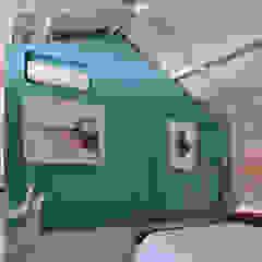 Cuartos de estilo moderno de Matealbino arquitectura Moderno