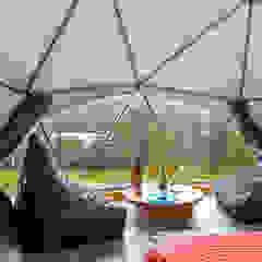 モダンスタイルの寝室 の smart domos モダン