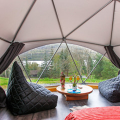 Dormitorios de estilo moderno de smart domos Moderno