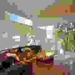 Ruang Media Minimalis Oleh Echauri Morales Arquitectos Minimalis Kayu Wood effect