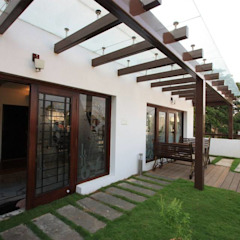 The Multi Level House Modern garden by Ansari Architects Modern