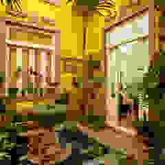 Casa de Campo Helvetia Jardins de inverno coloniais por Marcelo Bicudo Arquitetura Colonial