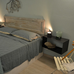 Elena Valenti Studio Design BedroomBedside tables Iron/Steel Black