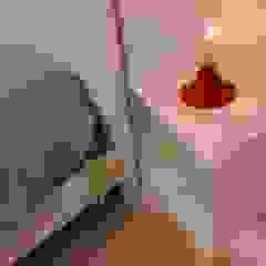 Elena Valenti Studio Design BedroomBedside tables Iron/Steel White