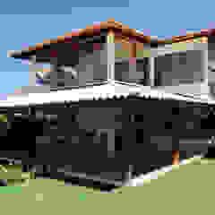 Tropische huizen van CHASTINET ARQUITETURA URBANISMO ENGENHARIA LTDA Tropisch Hout Hout