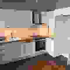 Firuzağa Ev İskandinav Mutfak Plano Mimarlık ve Teknoloji İskandinav
