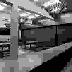 Sala da pranzo moderna di Ramiro Zubeldia Arquitecto Moderno Cemento