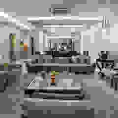 Heloisa Titan Arquitetura Salones de estilo clásico Cobre/Bronce/Latón Ámbar/Dorado